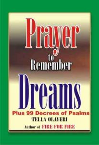 Prayer to Remember Dreams – Tella Olayeri [ePub & Kindle] [English]
