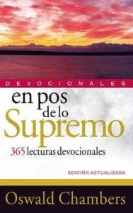 En pos de lo Supremo: 365 lecturas devocionales – Oswald Chambers [ePub & Kindle]