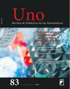 Uno. Didáctica de las Matemáticas – Enero-Febrero-Marzo, 2019 [PDF]