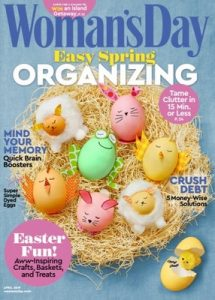 Woman's Day USA – April, 2019 [PDF]