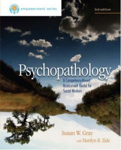 Psychopathology: A Competency-Based Assessment Model for Social Workers [3rd Edition] – Susan W. Gray [PDF] [English]