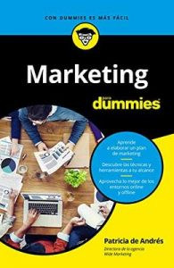 Marketing para Dummies (Volumen independiente) – Patricia de Andrés [ePub & Kindle]