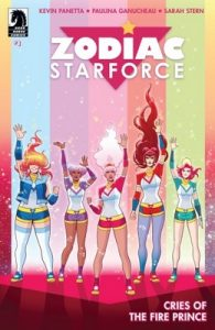 Zodiac Starforce: Cries of the Fire Prince Issue #1 [PDF] [English]