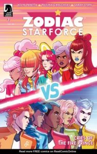 Zodiac Starforce: Cries of the Fire Prince Issue #3 [PDF] [English]