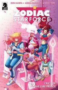 Zodiac Starforce: Cries of the Fire Prince Issue #4 [PDF] [English]