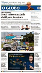 O Globo Brasil – Agosto 27, 2019 [PDF]