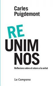 Re-unim-nos – Carles Puigdemont [ePub & Kindle] [Catalán]