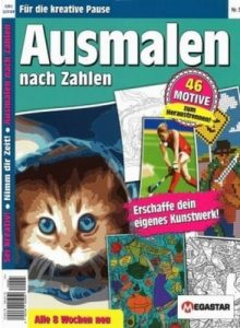 Ausmalen nach Zahlen – Colour by numbers – Vol.5 [PDF]