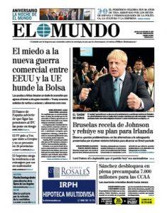 El Mundo – 03.10.2019 [PDF]