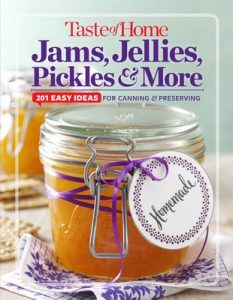 Taste of Home Jams, Jellies, Pickles & More: 201 Easy Ideas for Canning and Preserving (Toh 201) – Editors at Taste of Home [ePub & Kindle] [English]