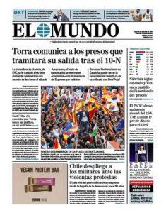 El Mundo – 21.10.2019 [PDF]