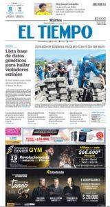 El Tiempo – 15.10.2019 [PDF]