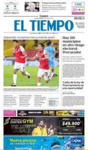El Tiempo – 21.10.2019 [PDF]