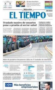 El Tiempo – 23.10.2019 [PDF]