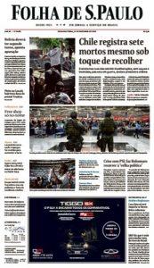 Folha de São Paulo – 21.10.2019 [PDF]