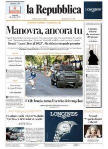 La Repubblica – 21.10.2019 [PDF]