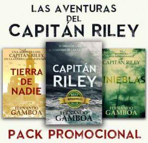 Pack Promo Las aventuras del Capitán Riley Capitán Riley+Tinieblas – Fernando Gamboa [ePub & Kindle]