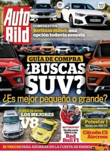 Auto Bild España n° 602 – 10 Enero, 2020 [PDF]