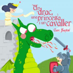 Sant Jordi un drac, una princesa i un cavaller – Care Santos [Narrado por Oriol Rafel] [Audiolibro] [Catalán]