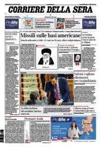 Corriere della Sera – 08.01.2020 [PDF]