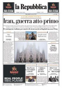 la Repubblica – 08.01.2020 [PDF]