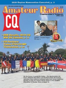 CQ Amateur Radio – April, 2020 [PDF]