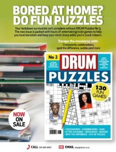 Drum n°3 South Africa – 14 May, 2020 [PDF]