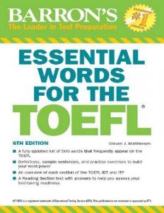 Essential Words for the TOEFL (Barron's Test Prep) [Seventh Edición] – Steven J. Matthiesen [PDF] [English]