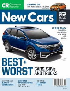 Consumer Reports New Cars – September, 2020 [PDF]