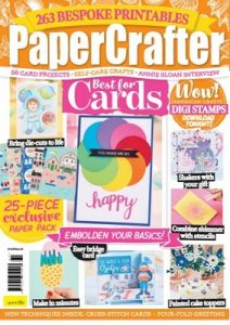 PaperCrafter Issue 160 – June, 2021 [PDF]